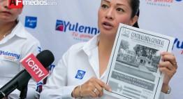 Yulenny Cortés presenta declaración patrimonial