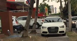 Estacionamiento improvisado – Denuncia ciudadana