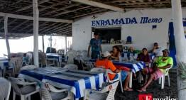 Alrededor de 30 enramadas afectadas por 'Blanca' en El Paraíso; ramaderos preparados para visitantes