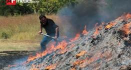 PGR incinera en Jalisco más de una tonelada de drogas