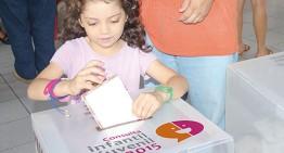 Colimenses participanen la Consulta Infantil y Juvenil 2015