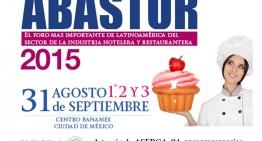 ABASTUR 2015 a partir de 31 de agosto en la Ciudad de México