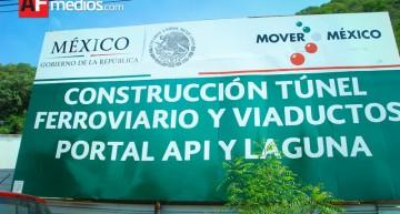 Desde el Legislativo, buscan agilizar obra de túnel ferroviario en Manzanillo