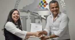 IEE entrega constancia de regidor a Omar López