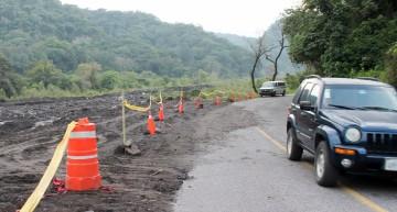 Tramo carretero Becerrera-San José del Carmen transitable, continuarán trabajos de rehabilitación
