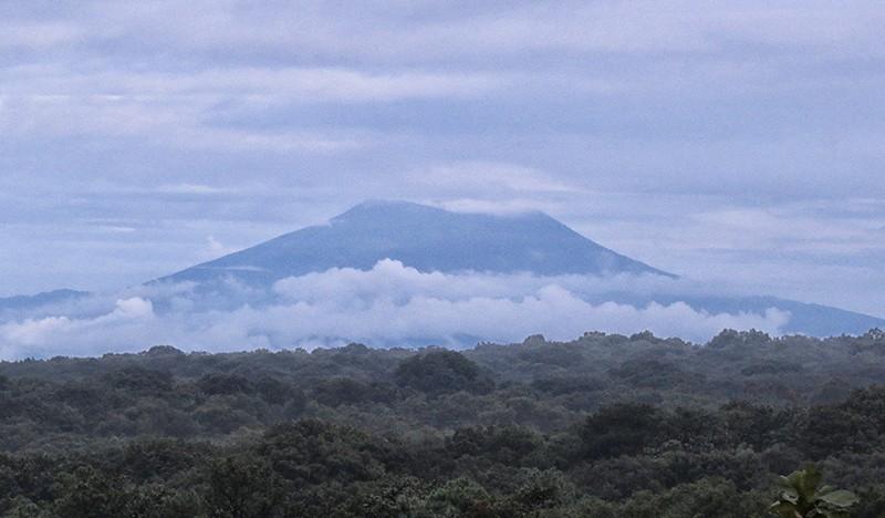 Otro volcán…