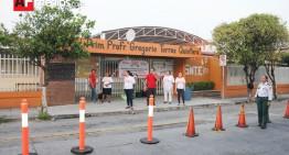 Escuelas del SNTE 39 realizan paro de labores