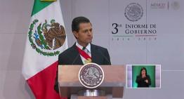PAN y PRD 'reprueban' a Peña Nieto a tres años de su gobierno; PRI ve frutos de reformas en próximo trienio
