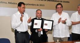 Conmemora Correos de México 75 aniversario de la Universidad de Colima con estampilla postal
