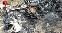 Avioneta que cayó en Maruata llevaba 39 paquetes de droga; hay dos muertos