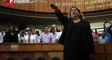 Mayoría panista nombra a Yarazeth Villalpando como oficial mayor del Congreso