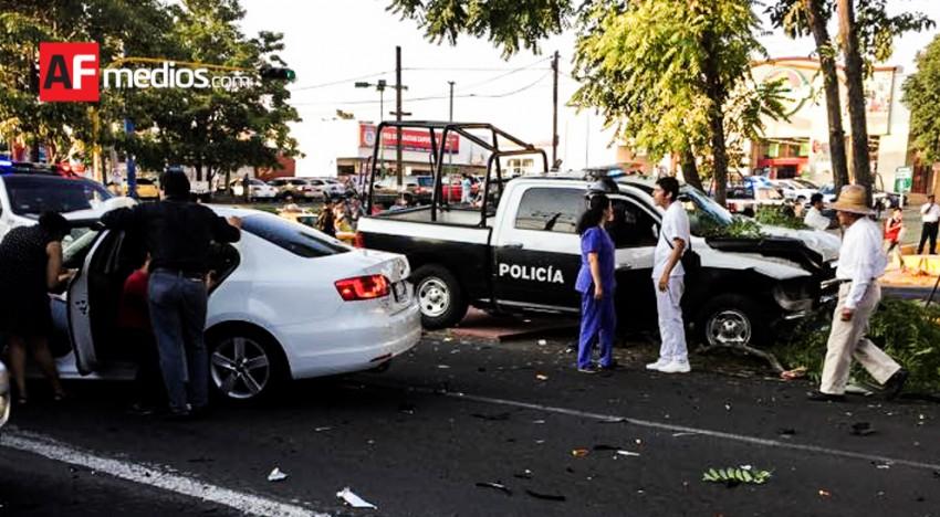 Accidente en Felipe Sevilla