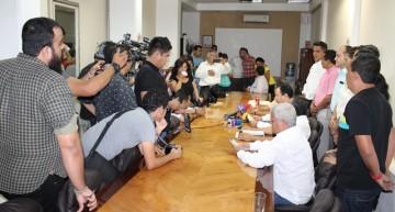 PRI, Panal, PVEM y PT, invitan al PAN a conciliar para conformar Gobierno Interno