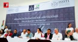 ISSSTE anuncia programas especiales para derechohabientes afectados por huracán 'Patricia'