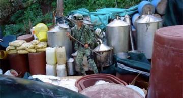 PGR Inhabilita laboratorio de droga sintética en Jalisco
