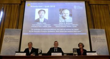 Nobel de Física recae en científicos que resolvieron elusivo misterio de los neutrinos