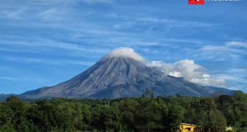 Emisión de gases volcánicos de baja a moderada en última semana: PC