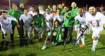 México invicto y líder de Grupo A en II Copa América de Futbol de Amputados 2015