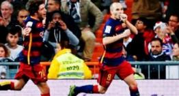 Barcelona amo y señor del clásico español; golea 4-0 al Real Madrid