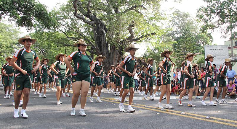 Ganadores del desfile