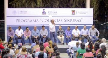 Dependencias de los tres niveles realizarán acciones para reducir inseguridad en diversas colonias