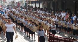65 contingentes participan en desfile de la Revolución Mexicana en 'la Villa'