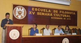 Comenzó XV Semana Cultural de Filosofía
