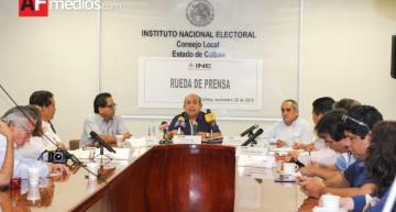 INE ha recibido 17 denuncias desde el 6 de noviembre vinculadas a proceso electoral extraordinario