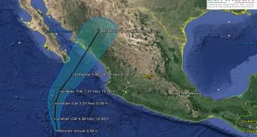 'Sandra' se fortalece a categoría 4, pero lejos de costas colimenses