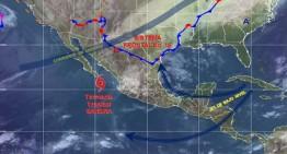 Tormenta tropical Sandra a 145 kilómetros de Baja California Sur