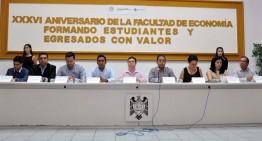 Celebra Facultad de Economía 36 años de formar estudiantes con valor