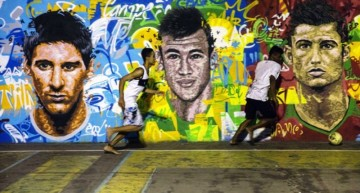 Lionel Messi, Neymar y CR7 finalistas por el Balón de Oro 2015