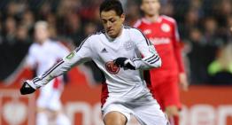 Con gol y asistencia de 'Chicharito' guió al Leverkusen a Cuartos de Final de DFB Pokal