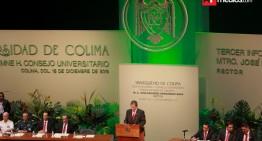 Rector rinde tercer informe: hay calidad académica, responsabilidad social y gobierno responsable