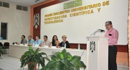 Realiza UdeC I Encuentro Universitario de Investigación y Tecnología