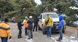 Operativo coordinado en Parque Nacional Nevado de Colima