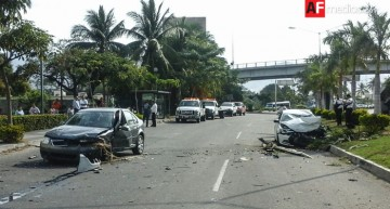 Accidente en Manzanillo deja saldo de un muerto y un detenido