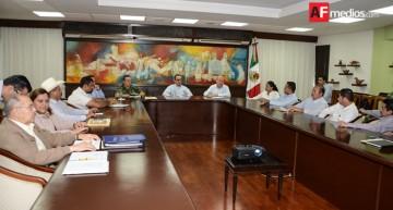 Gobernador y alcaldes se reúnen para impulsar acciones en seguridad