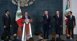 Presidente Enrique Peña designó a nuevos titulares de la secretaría de Salud, IMSS y PEMEX