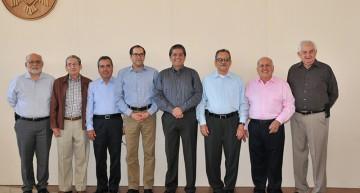 Ex rectores reconocen que la U de Colima está en buenas manos