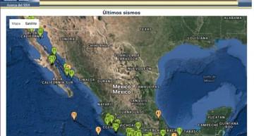 Este 10 de febrero se registran en el país cuatro sismos mayores a 4 grados Richter