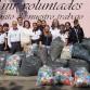 Recibe Voluntariado de la UdeC donación de 40 mil taparroscas