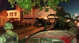 Ejército catea una de las casas aseguradas de Mzllo; se habrían realizado asesinatos ahí