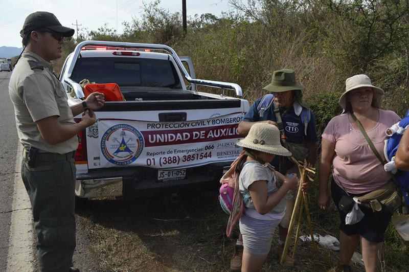 Con El Objetivo Salvaguardar La Seguridad De Los Peregrinos Que Visitan A Virgen Del Rosario En Municipio Talpa Allende Unidad Estatal