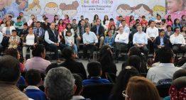 Presidente anuncia que estancias infantiles serán certificadas para dar clases de preescolar