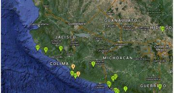 Sismo de 5.1 con epicentro en Coalcomán, Michoacán