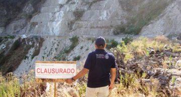 """Profepa clausura obra carretera """"La Rosa-La Fundición"""", pero no ve daños en """"El Baño de mi General"""""""