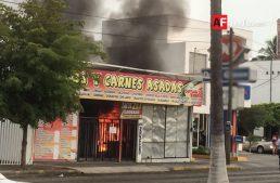 Incendio en negocio de comida fue controlado