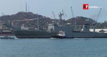 Usumacinta y Zapoteco trasportarán comitiva presidencial el Día de la Marina