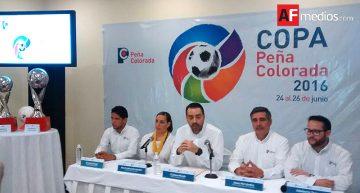 Copa Peña Colorada 2016 del 24 al 26 de Junio; lo recaudado será para niños con cáncer